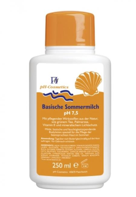VitaSoniK Shop - ph-Cosmetics Basische Sommermilch 250ml pH 7,5